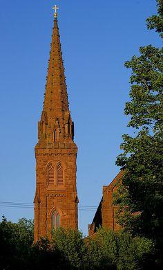 St. Mary's Church - Newport, RI John Jackie Kennedy were married here on September 12, 1953     #VisitRhodeIsland