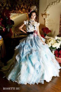 ROSETTI blue Princess Palace, Fantasy Princess, Glitz And Glam, Dress Brands, Nice Dresses, Beautiful Women, Victorian, Gowns, Blue