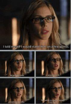 Arrow - Felicity Smoak #3.3 #Season3