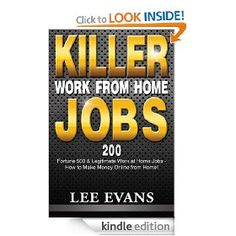 Bookmark this and get this book FREE on Kindle 10/1/12 24 hours only. Lee's assistance doesn't end when you buy the book, either. He vows that the links to all of the jobs he lists in his book will be current and working -- even though companies change their websites constantly. If for some reason a reader is having problems with one of the links or listings in this book, Lee cordially invites him or her to contact him and he will search out the revised information and supply it.