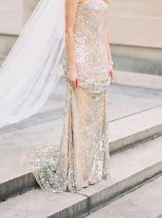 Sparkly Gossamer Gown