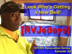 A fun, realistic look at my journey in the RV world and where it takes me! Along the way I'll be showing you how I do things. Hopefully I'll meet some folks . Rv World, Renovation Budget, Diy Rv, Pillow Top Mattress, New Beds, Quilted Pillow, So Little Time, Budgeting, How To Plan
