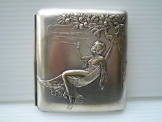 vintage cigarette case - $130