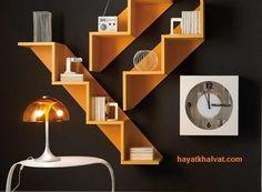 Modern Furniture Cabinet home furniture design. Shelf Design, Design Case, Home Furniture, Modern Furniture, Furniture Ideas, Distressed Furniture, Office Furniture, Furniture Logo, Farmhouse Furniture