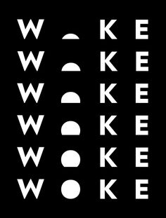 Brand New: New Logo and Identity for Woke by Hello Creative