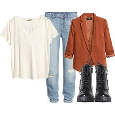 Untitled #597 by bthorne on Polyvore featuring H&M