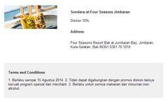 Sundara: Diskon 10% (OCBC NISP)
