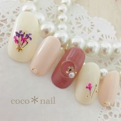 coco*nailさんの作品一覧 in 2019 Elegant Nail Art, Elegant Nail Designs, Nail Art Designs, Wow Nails, Cute Nails, Pretty Nails, Japanese Nail Art, Nail Patterns, Nail Arts