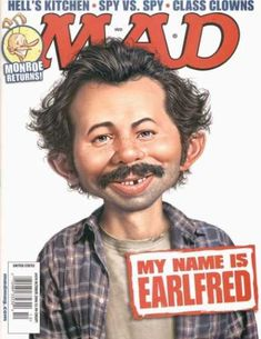Mad Magazine's 10 Best (and 3 Worst) TV Show Parodies Mad Magazine, Magazine Images, Magazine Covers, Magazine Articles, Magazine Rack, Comic Book Covers, Comic Books, Comic Art, Alfred E Neuman
