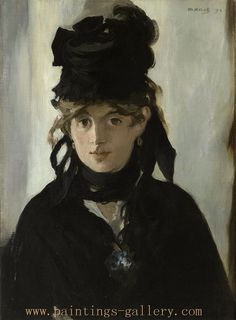 Berthe Morisot - French painter and printmaker - Paintings-Gallery.com