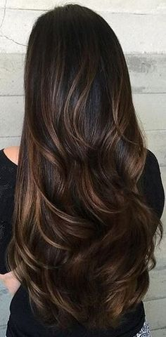 Brunette Hair Highlights