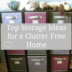 Lots of top tips to organise your home