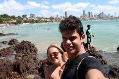 Lu e Ana Praia de Ponta Negra, Morro do Careca