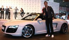 Cristiano Ronaldo With His Cars – Photo Collection