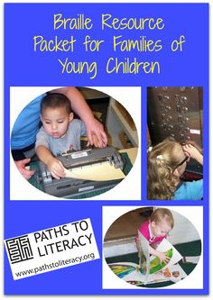 Downloadable braille resource packets for beginning braille readers from Paths to Literacy. *pinned by WonderBaby.org