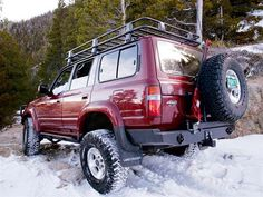 1993 Toyota Land Cruiser Fzj80 Rear View Photo 9545587