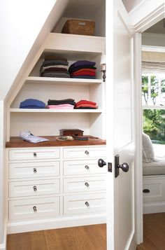 3 Industrious Simple Ideas: Girls Bedroom Remodel Built Ins small bedroom remodel tips.Basement Bedroom Remodel On A Budget. Girls Bedroom, Attic Bedroom Closets, Attic Closet, Bedroom Closet Design, Closet Designs, Attic Bathroom, Closet Space, Master Bedroom, Attic Office