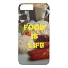 Shop Food is LIFE phone case created by Grafixx. Food Iphone Cases, Iphone Case Covers, New Recipes, Mugs, Tableware, Life, Dinnerware, Tumblers, Tablewares