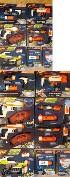 Dart Guns and Soft Darts 158749: Brand New Nerf Gun Modulus Series Lot *Ionfire, Blaster Stock, Stockshot +More!! -> BUY IT NOW ONLY: $85 on eBay!
