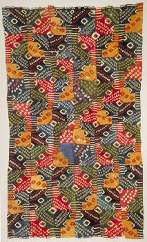 Wollen fabric from the time of Nasca - Wari-culture 600 - 850 A.D.