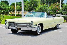 1966 Cadillac Convertible | Simply beautiful 1966 Cadillac Deville Convertible 59k loaded really ...