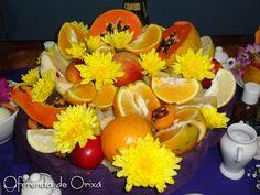 Frutas para Oxum