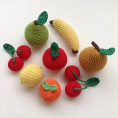 Dans la hotte du Père-Noël.  #crochet #fruits #vosjoliescommandes #diy #handmade #homemade #faitmain #larmoiredadèle