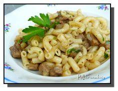 No Salt Recipes, Pasta Recipes, Cooking Recipes, Healthy Recipes, Food 52, Main Meals, Pasta Salad, Macaroni And Cheese, Food And Drink