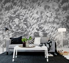 Wall mural R13081 Concrete Roses