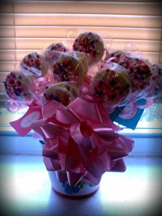 White Chocolate Covered Double Stuff Oreos Cookie Bouquet