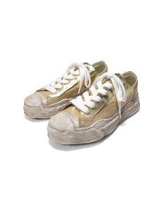 """MIHARA YASUHIRO ONLINE STORE / """"HANK"""" OG DE Sole Leather Low-top Sneaker"""