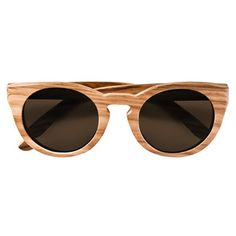 Leopold Sunglasses Zebrano IInow featured on Fab