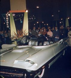 1955 Lincoln Futura, before it became the first Batmobile....