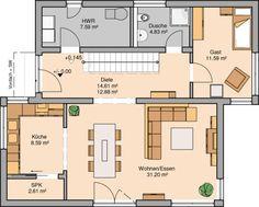 Die 397 besten bilder von grundriss einfamilienhaus home for Hauser plane einfamilienhaus