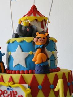 Modelagem Leão - Bolo tema Circo - Aniversário Pedro Henrique 1 aninho!