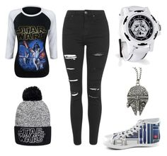 """Star Wars Fan Look"" by mitchieanne21 on Polyvore featuring Topshop"
