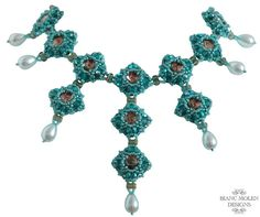 Beadweaving / beadwork pattern / tutorial Lady by JewellerybyBianc, €8.00