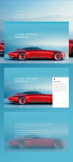Mercedes-Maybach 6 on Behance