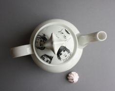 Weiteres - Kaffeekännchen - dekoriert - ein Designerstück von JulianeBlank bei DaWanda