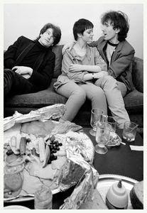 The Edge, Aislinn O'Sullivan and Bono