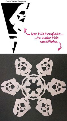 Darth Vader snowflake! by faye
