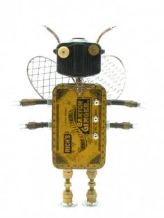 amy flynn: fobots: found object robots « HAUTE NATURE