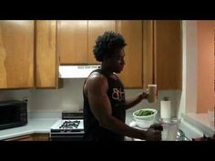 """How to make a Delicious Green Smoothie...""""The Basic""""  This guy is good, he has 3 smoothie sections: beginner, intermediate and advanced."""