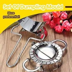 Set Of Dumpling Mould HOT SELLING! BUY 3 GET OFF CODE: This is a set of home kitchen dumpling machines and peelers that fill, fold and press down on a perfect dumpling. Cool Kitchen Gadgets, Kitchen Items, Cool Gadgets, Cool Kitchens, Kitchen Dining, Family Kitchen, Family Bathroom, Travel Gadgets, Ravioli