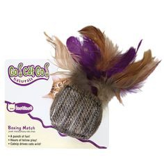 OurPets Cube w/Feathers Boxing Match > New and awesome cat product awaits you, Read it now  : Cat toys