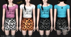 orange-sim club fashion downloads   http://orange-sim.blogspot.com/2012/07/teen-outfit-dress-top.html  #sims3 #customcontent #ts3cc #sims3downloads #sims3cc