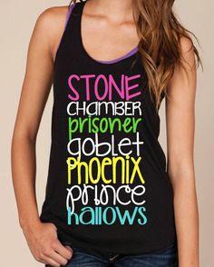 Harry Potter Workout Tank Stone Chamber Prisoner by LexisLoft, $23.00
