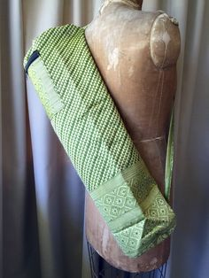 Silk Sari Yoga Bag : Green Shop now NZ$25 Summer House NZ