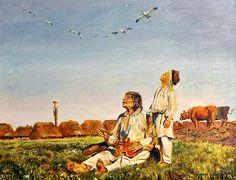 Beautiful work, Henryk!!! What a wonderful tribute to Polish painter Joseph Chelmonski!