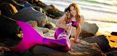 Fin Fun Mermaid Tails. This site sells swimable mermaid tails and offers a satisfaction guarantee return policy
